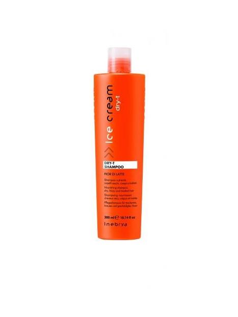 Shampoing nourrissant pour cheveux secs et crépus DRY-T INEBRYA 300ml