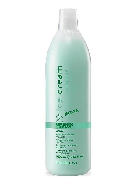 Shampoing rafraîchissant à la menthe Inebrya 1l