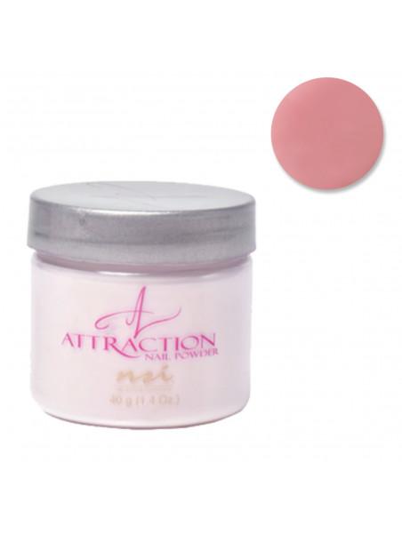 Poudre résine acrylique Attraction Purely Pink Masque NSI 40 grs