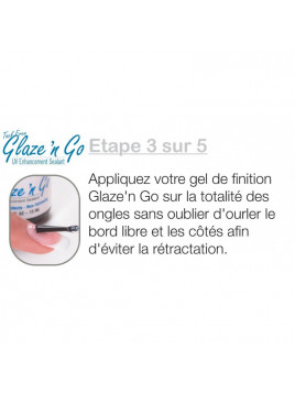 Gel de finition Glaze' n Go UV NSI 15 ml