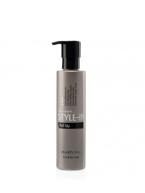 Crème définition boucles ROLL UP STYLE IN INEBRYA 200 ML