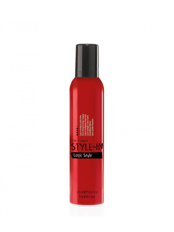 Laque écologique extra-forte LOGIC STYLE STYLE-IN INEBRYA 320 ML