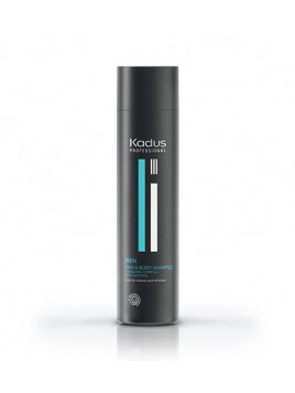 Shampoing Homme cheveux et corps KADUS 250ML