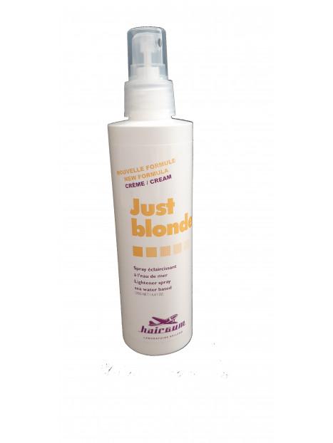 Spray éclaircissant à l'eau de mer Just Blonde Hairgum