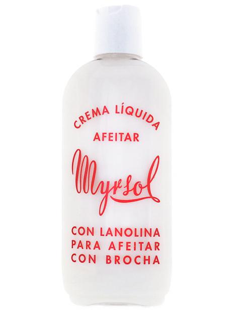 Crème liquide de rasage à la lanoline Myrsol 200 ml