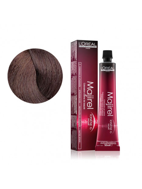 Coloration avec ammoniaque Majirel Absolu n°5.15 Châtain clair cendré acajou de L'Oréal Professionnel