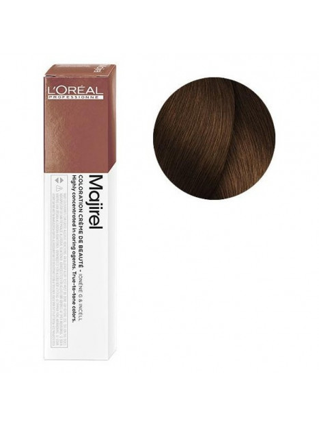 Coloration avec ammoniaque Majirel n°6.34 Blond foncé doré cuivré de L'Oréal Professionnel
