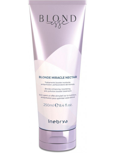 Soin cheveux BLONDESSE blonde miracle nectar INEBRYA 250 ml