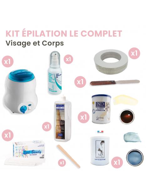 """Kit épilation esthétique """"Le complet"""""""