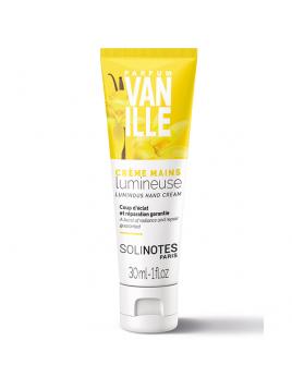 Crème de mains Vanille 30ml SOLINOTES