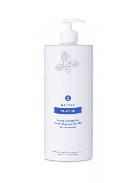 Après shampoing Nectar Platine Luxe Color 1 L