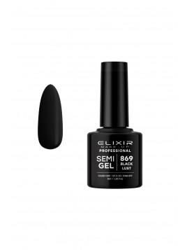 Vernis Semi-Permanent Black Lust ELIXIR 8 ML